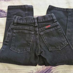 Boys toughskins Brand Black Jeans Size 5/5…